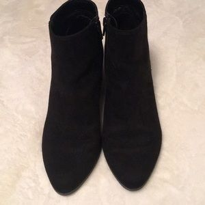 Womens Faux Suede Bootie